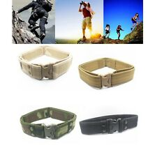 Adjustable Survival Tactical Belt Emergency Rescue Rigger Military Quick Release