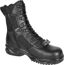 Black Side Zipper Composite Toe 8 Inch Tactical Boots
