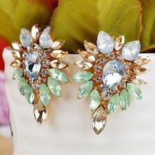 Elegant  Lady Women Crystal Rhinestone Ear Stud Girls Earrings Jewelry Fashion