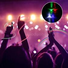 20/40/100 LED Finger Lights Flashing Ring Light Colourful for Concert Party W8N6