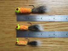 1 Kandy Corn Squirrel tail jig hand tied lures
