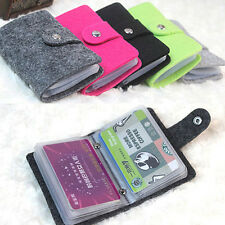 Ladies Women's Pouch ID Credit Card Wallet Cash Holder Organizer Case Box Pocket