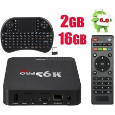 M9S-PRO Android 6.0 S905X Smart Quad Core TV Box 16GB 4K WiFi +QWERTY Keyboard