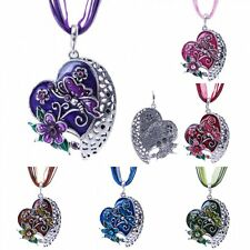 Fashion Love Heart Flower Butterfly Pendant Necklace Chain Charm Women's Jewelry