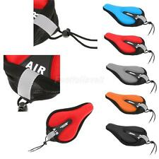 BATFOX Cycling Bicycle Bike Lycra Seat Pad Saddle Cover Soft Cushion 3D Gasbag