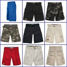 Boy's Levi's Relaxed Fit Flat Front Belted Cargo Shorts 10, 12, 14, 16 or 18 New