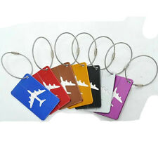 Travel Luggage Address Name Suitcase Baggage Tag  Aluminium Identity Labels