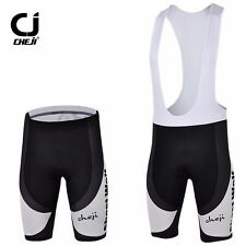 Mens Cycling Shorts / Bike Bib Tights Short With Pad Black Ghost Wolf Size S-5XL