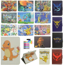 """Pikachu Pokemon Series Tablet Case for Universal 7"""" 7.9"""" PU Leather Stand Cover"""