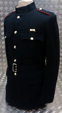 Genuine British Army No1 Dress Blues Jacket / With Belt - No Buttons