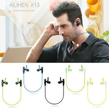 Bluetooth 4.1 Headphones with Mic Headsets Stereo Earphones Wireless Sports Set