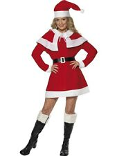 NEW Adult Sexy Christmas Miss Santa Ladies Fancy Dress Xmas Party Costume Outfit