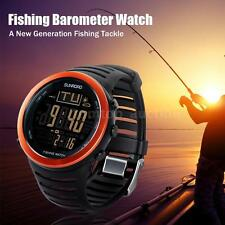 PORTABLE CARP FISHING DIGITAL WATCH BAROMETER ALTIMETER THERMOMETER 2016 V0X4