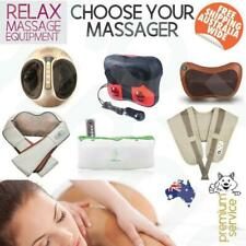 Massage Equipment Neck Back Shoulder Leg Arm Massager Knead Heat Car Home 3D