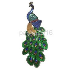 New DIY Clothing Bag Patch Iron Sew Applique Transfer Sequin Embroidery Peacock