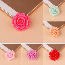 18x9mm 3D Resin Rose Flower Flatback Cabochons Cameo Jewelry Finding DIY