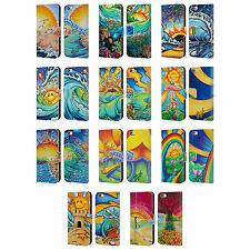 OFFICIAL DREW BROPHY SURF ART LEATHER BOOK WALLET CASE FOR APPLE iPHONE PHONES