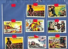 A&BC GUM BATTLE CARDS VGC 99 pence EACH JUST PICK THE CARDS YOU NEED