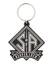 Sons of Anarchy Reaper Crew Rubber Keychain SoA Keyring
