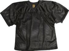 New ProMark Football Lacrosse Youth Waist Length Poly Mesh Practice Jersey BLACK