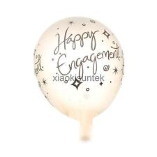 10pcs Happy Engagement Latex Balloons Wedding Party Supplies