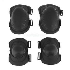 4Pcs/Set Military Tactical Protective Gear Skating Hunting Elbow Knee Pads Set