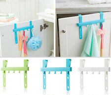 Door Rack Hanging Rack Hot Five Hooks Home Holders Kitchen Storage Towel Hanger