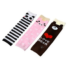 Baby Kids Soft Cotton Leg Warmers Cute Cartoon Legging Socks
