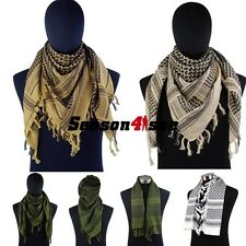 4 Colors Airsoft Tactical Outdoor Military Arab Shemagh Kafiya Scarf Mask