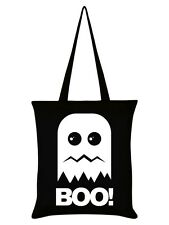 New Boo! Ghost Black Tote Bag