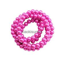 Imitation Pearl Glass Beads Round Loose Beads DIY Accessories