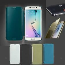 Smart Phone Flip Hard Case Cover Sleep Wake Display For Samsung S7/ S7 Edge