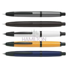 PILOT CAPLESS BLACK TRIM FOUNTAIN PEN - all colours and nib sizes available