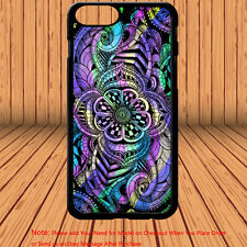 Floral Flower Mehndi Girly Mandala Henna Pretty Phone Case Cover for Smart Phone