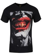 DC Comics Joker Smile Men's Black T-Shirt - NEW & OFFICIAL