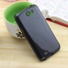 New DIY Deco Black Color Hard Back Plastic Case Cover Skin For Mobile Phones