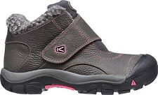 NIB KEEN Kootenay Big Kids Girls' Youth / Women's 5 Medium Boots Magnet & Pink