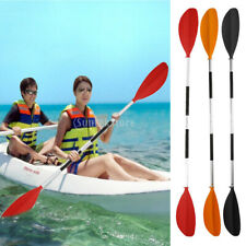 Lightweight Kayak Canoe Dinghy Boat Asymmetrical Paddle Oar ( Split Shaft) 220cm