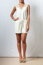 NEW Womens Jumpsuit White Lace Romper Elegant Formal Backless Playsuit MISSKADIA
