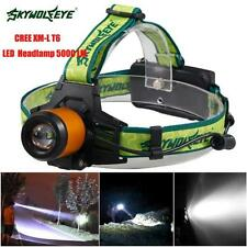 5000LM CREE XM-L T6 LED Headlamp Headlight Flashlight Head Light Head Lamp 18650