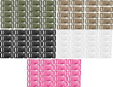 "Plastic Side Release Paracord Buckles 1/2"" - 20 Pack"