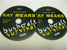 RAY MEARS - BUSHCRAFT -SERIES 1 ON 2 DISCS - DISC ONLY (DS)  {DVD}
