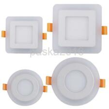 6W/9W Square/Circular Bulb Lighting LED Ceiling Panel Warm White/White Light