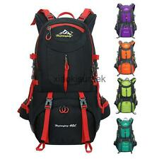 40L Multi-function Climbing Backpack Waterproof Sports Camping Hiking Daypack