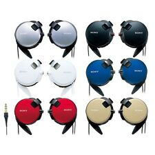 SONY MDR-Q68LW StreetStyle Clip-On Headphones Silver White Red Black Blue Brown