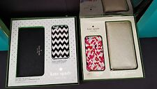 OEM Kate Spade NY iPhone 6 & 6S Gold Wristlet & Hearts Case Gift Set Retai Box
