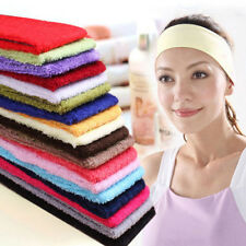 Chic Sweatband Terry Cloth Cotton Headbands,Sport/Yoga/Gym/Workout Sweatbands