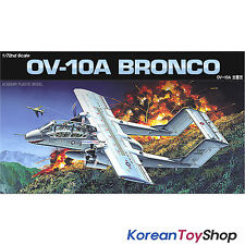 Academy 12463 1/72 Plastic Model Kit OV-10A Bronco Fighter / Made in Korea