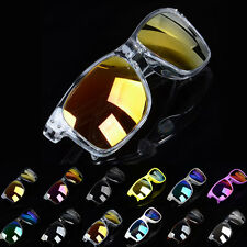 Hot Unisex Vintage Mirror Sunglasses UV400 Sun Protection Outdoor Sports Glasses