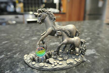 Pewter THE UNICORNS OF FREEDOM Fantasy & Legend Series WAPW by Roger Gibbon